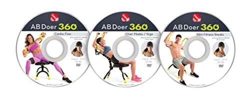 AB Doer 360 Workout Series - 3 Pack DVD Set with Fitness, used for sale  Delivered anywhere in USA