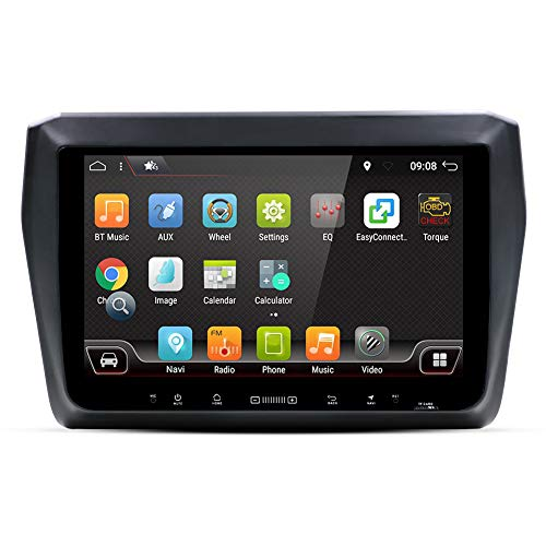 Lionet GPS Navigation for Car Jeep Grand Cherokee 2016,10.1 Inch Android 6.0 4G NET 1G//16G in Dash GPS Navigation HiFi,Bluetooth Radio Lifetime Map Vehicle GPS Navigator