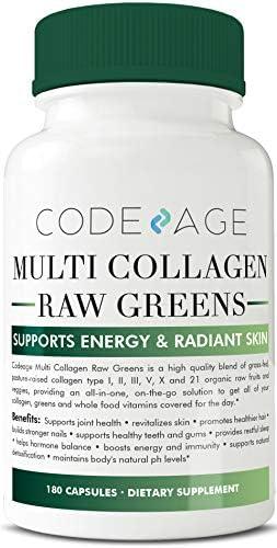 Multi Collagen Pills Greens Superfood All