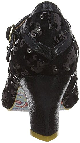 Choice Femmes Bar T Noir Irregular Nicely Done Talons Sequins OwnvB