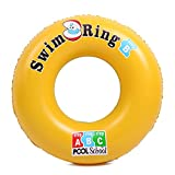 Swim Rings - Inflatable Swimming Pool Float - Safe Material Beach Pool Water Toys for Age 1-18 Years Children,60cm
