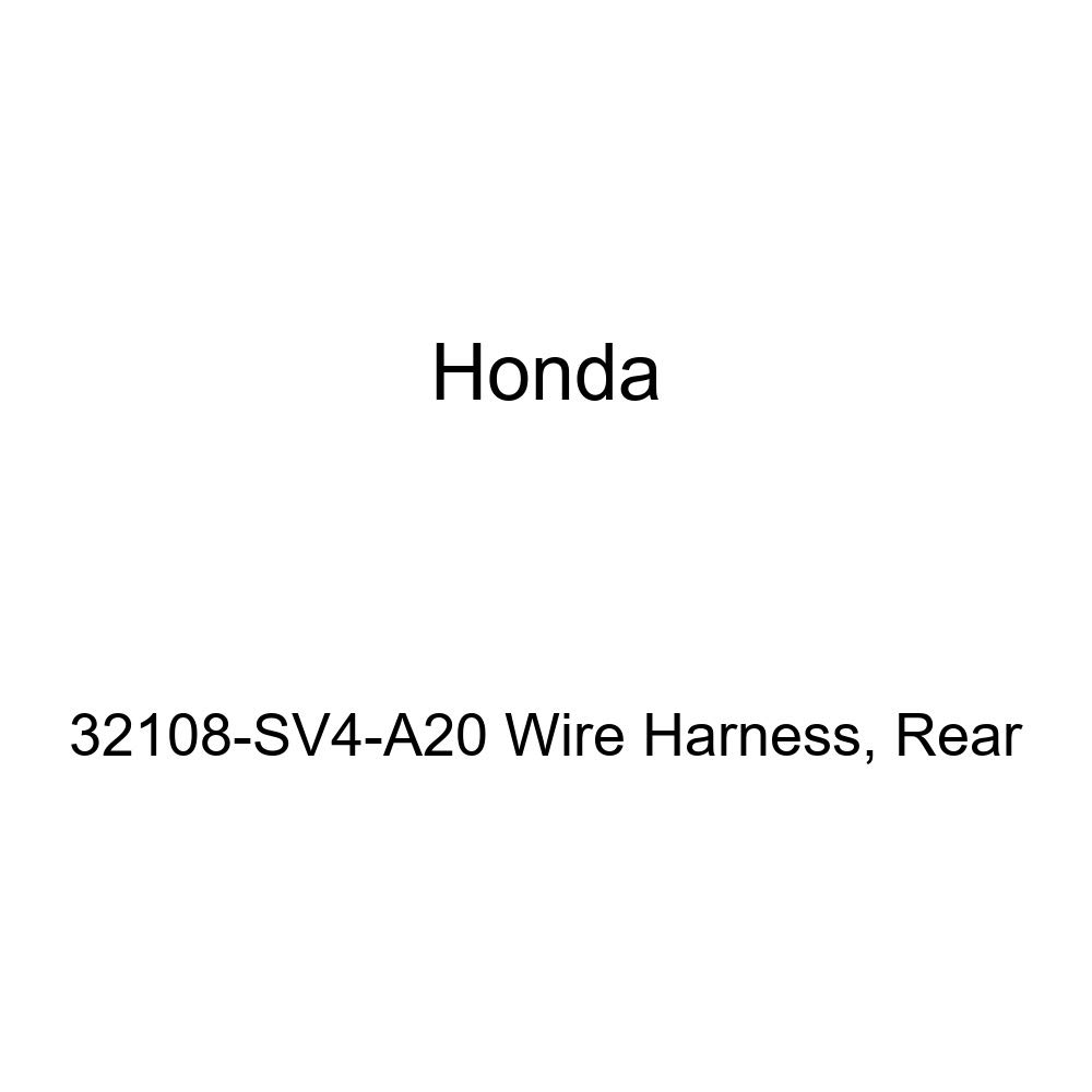 Rear Genuine Honda 32108-SV4-A20 Wire Harness