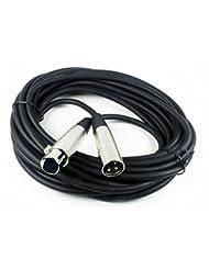 CBI MLC20 Low Z XLR Microphone Cable, 20 Foot