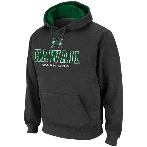 UPC 886069788192, Hawaii Warriors Charcoal Sentinel Pullover Hoodie Sweatshirt (Large)