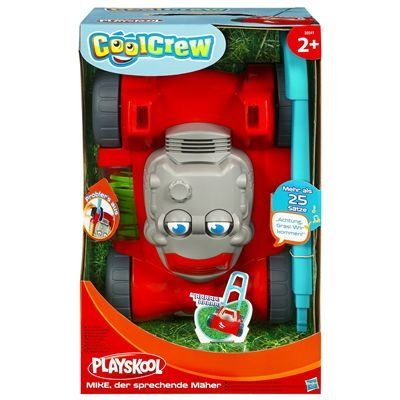 Playskool 39341 Mike - Cortacésped parlante de juguete [importado ...