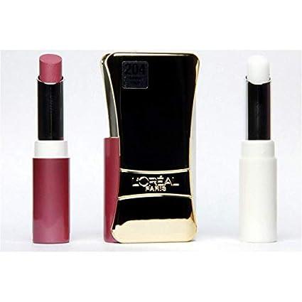 L Oréal – Pintalabios Infaillible Lip Duo – 204 Golden Plum