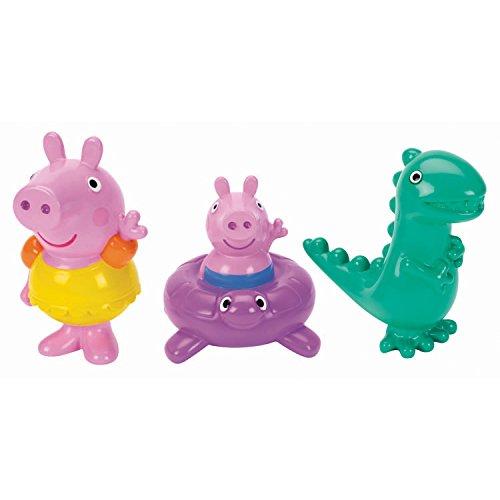 Peppa Pig Bath Squirters - Peppa Pig, George and Dinosaur Set