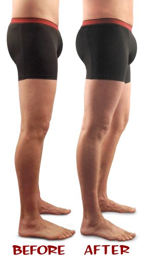 0c0a2443905c Jackpot! Men's Padded Underwear (Removable Butt & Front Pads ...