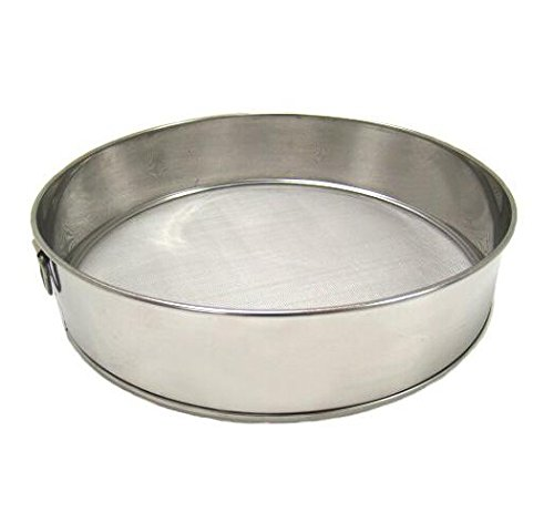 7.5'' Stainless Steel Sifter, Fine Mesh by Lucian