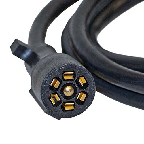 41dvV11Uv0L aleko tc7e7 7' trailer wire connector 7 way extension harness  at gsmportal.co