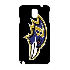 SHOWER 2015 New Arrival baltimore ravens logo 3D Phone Case for Samsung NOTE 3