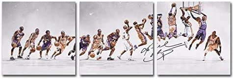 HD Canvas printed basketball star Kobe Bryant poster