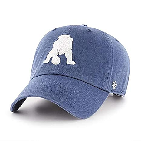 5042185b4cd  47 New England Patriots Blue Tonal Clean Up Adjustable Cap - NFL 1965  Relaxed Fit
