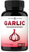 Odorless Garlic Pills - Extra Strength Softgels 1000mg Immune Support Supplement - Heart, Blood Pressure & Cholesterol...