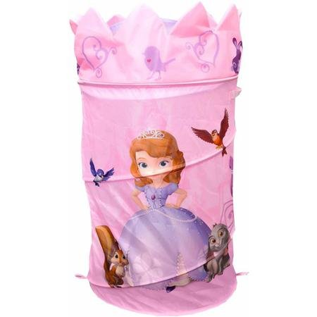 Disney Sofia the First Pop-Up Hamper with Dome Lid, Purple