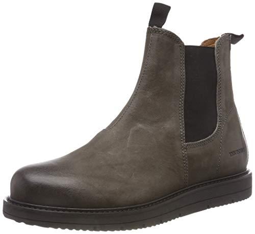 darkgrey Boots Femme Points Ten 203 Chelsea Grau Carina nqwRY786