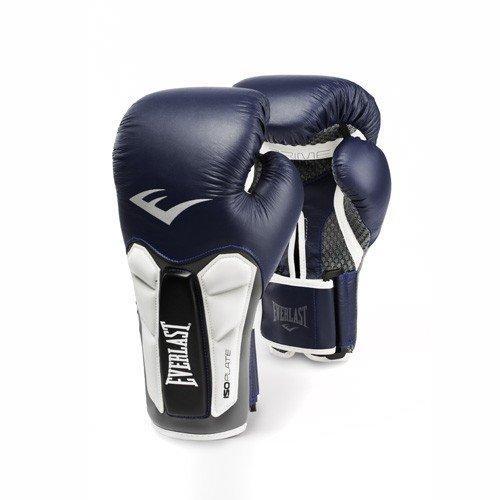 Everlast Prime Leather Training Gloves, 14 oz, Blue (Gloves Boxing 14 Everlast Oz)