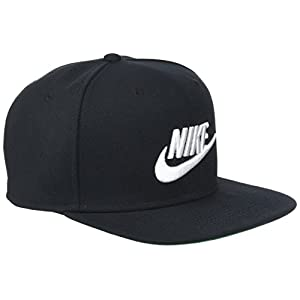 Nike Sportswear Pro Adjustable Unisex Hat Black/Pine Green/White 891284-010 9