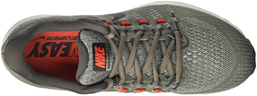 Nike Air Zoom Vomero 12, Zapatos para Correr para Hombre Gris (Tumbled Grey/black/pure Platinum/midnight Fog/max Orange)
