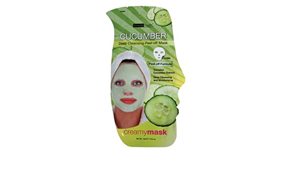 (6 Pack) BEAUTY TREATS Cucumber Deep Cleansing Peel-off Mask - BT204C VBESTLIFE 2 Colors Facial Acne Blackhead Removal Device Vacuum Suction Diamond Dermabrasion Pore Cleaner Beauty Machine Facial Pore Cleaner