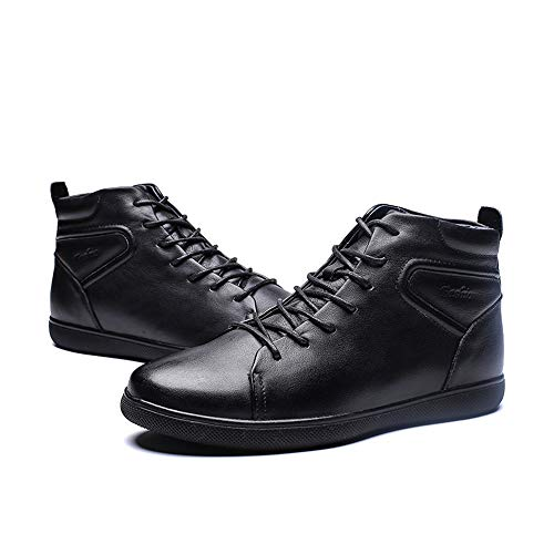 Nero Opzionale Scarpe Dimensione Casual Uomo shoes Leggero Soft color Uomo 2018 Nero Trend Moda 44 Warm Stivaletti Eu Velvet Jiuyue Da Sport Stivali convenzionale Boots 1qRxnw6Zw
