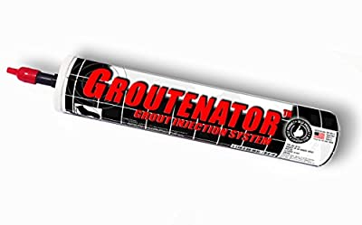 GROUTENATOR - Caulk Gun Injection System for Tile Grout, Mortar, Cement, Glues and more... Grout Bag and Float Replacement. by Sundog Systems
