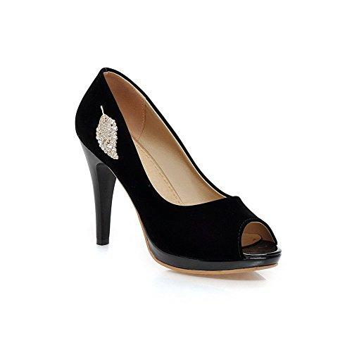 Sandalen 38 Adee Größe Damen Schwarz RwPWH5Sq