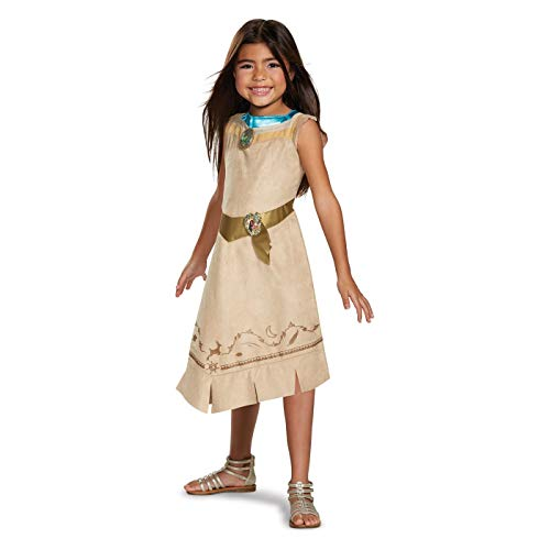 Princess Girls' Disney Pocahontas Classic Exclusive Halloween Costume Size Small 4-6x