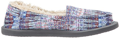 Sanuk Multi Chill Peri Dusty Slipper Ice Women's Icicle Shorty fPqSrwB4xf