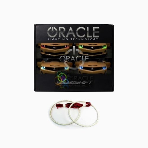 Oracle Lighting CH-CA1013-RGB - Chevrolet Camaro ColorSHIFT LED Halo Headlight Kit Camaro Halo Headlights