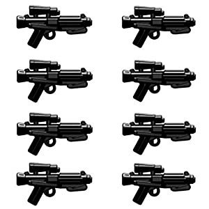 BrickArms E-11 Blaster Pack for Minifigures – 8 Pieces