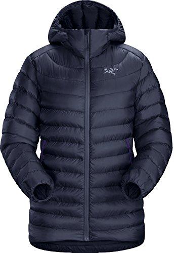 Arc'teryx Women's Cerium LT Hoodie Black Sapphire Sweatshirt by Arc'teryx