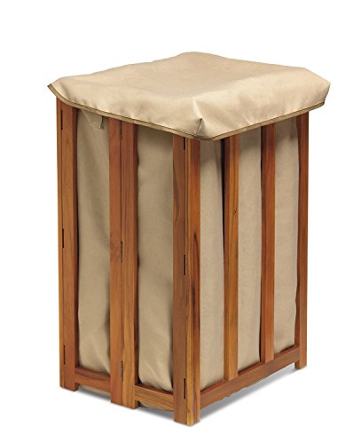 Conair Home Solid Teak Spa Hamper