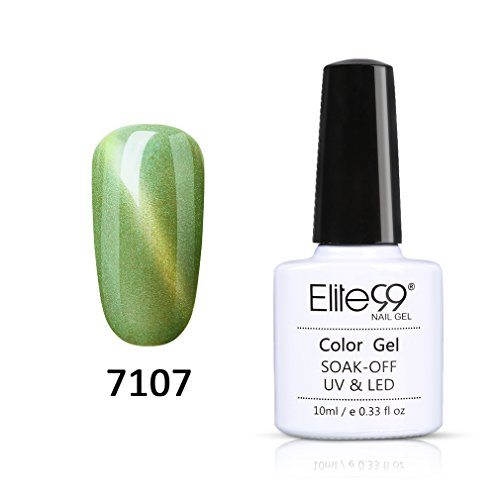 Elite99 Gel Nail Polish 3D Cat Eye Seashell UV LED Soak Off
