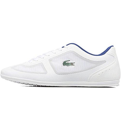 Lacoste - botas estilo motero hombre White