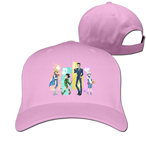 Price comparison product image XSSYZ Unisex Hunter X Hunter Roles Adjustable Baseball Caps Pink