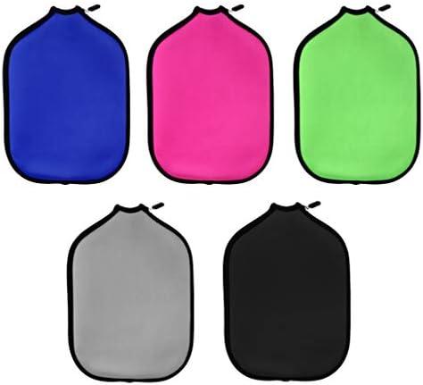 ネオプレン ピクルボールパドルカバー ジッパースリーブ 保護ケースバッグ ポータブル