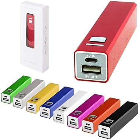 Lote de 20 Power Bank Aluminio 2200 mAh con Cable Incluido en Caja de Presentación - Micro USB - Power Bank, Powerbanks Baratos. Regalos de Empresa, Artículos Publicitarios y Promocionales: Amazon.es: Hogar