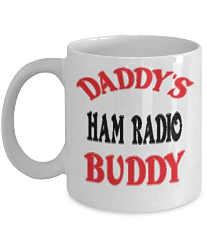 11oz Funny Daddy's Ham Radio Buddy Coffee Mug - Unique Cool Cute Father's Day Gifts Trust Me Great Novelty Gift Dad,al4544 ()