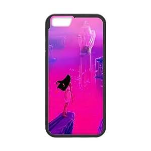 iPhone 6 Plus 5.5 Inch Cell Phone Case Black Pocahontas Ipjrc