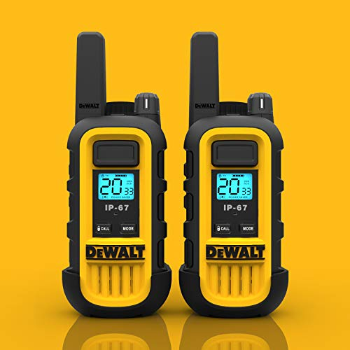 DeWALT DXFRS300 1W Walkie Talkies Heavy Duty Business Two-Way Radios (Pair) by DEWALT (Image #9)