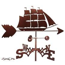 Hand Made CLIPPER SHIP NAUTICAL Weathervane NEW