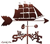 Hand Made CLIPPER SHIP NAUTICAL Weathervane ~NEW~