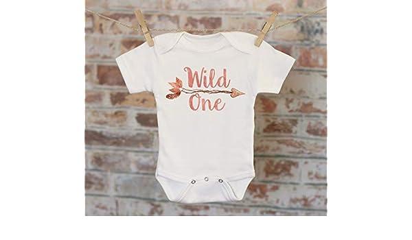 SR Personalised Wild At Heart Custom Baby T-Shirt