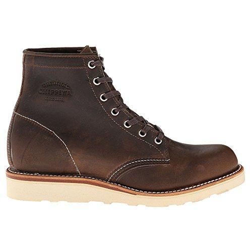 (Original Chippewa Collection Men's 1901M18 6 Inch Plain Toe Boot, Crazy Horse, 8 D)
