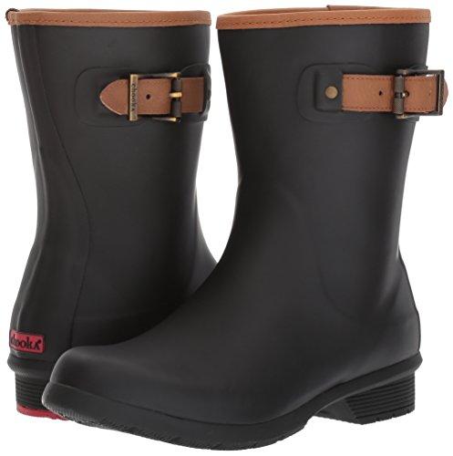 Chooka Women's Mid-Height Memory Foam Rain Boot, Black, 8 M US by Chooka (Image #6)