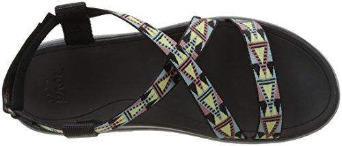 Teva Women's Terra-Float Livia Sports and Outdoor Lifestyle Sandal Black (Mosaic Black Multi Mbmt) vj09X