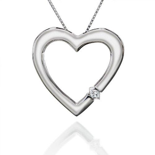 Diseño de princesas Disney de corazón de diamante de corte ...