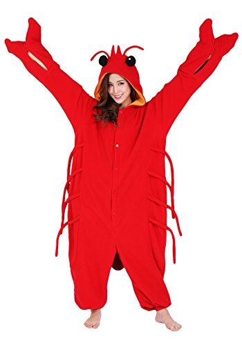 Halloween Lobster Kigurumi (Adults, Lobster) ()