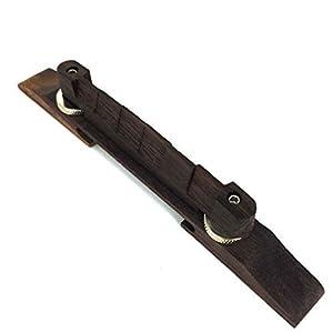 1pc js 01 archtop jazz guitar bridge rosewood chrome hardware guitar parts musical. Black Bedroom Furniture Sets. Home Design Ideas